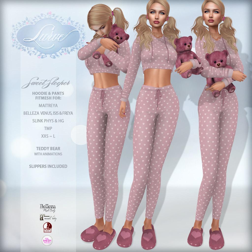 *Lurve* Sweet Sleepers in Pink