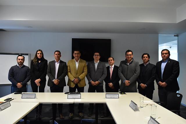 El Presidente Salvador Zamora Instala la Junta de Gobierno del Instituto  para el Mejoramiento del Habitad