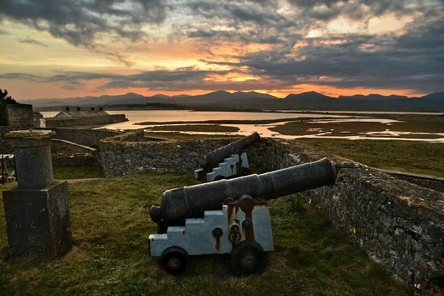 Fort Belan dawn raid.