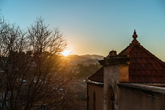 sunset over a working-class city - Photo of Aubagne