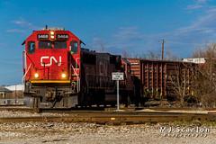 CN 5468 | EMD SD60 | CN Memphis Subdivision