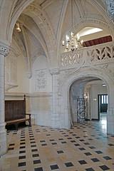 Le hall d'entrée (Hôtel de ville de Saint-Quentin, France)