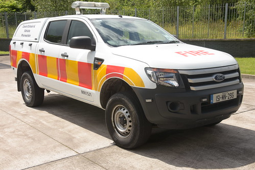 Monaghan Fire Authority 2015 Ford Ranger HPMP Fire L4V 151MN296
