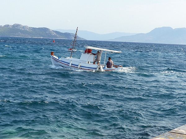 pêcheur à Égine
