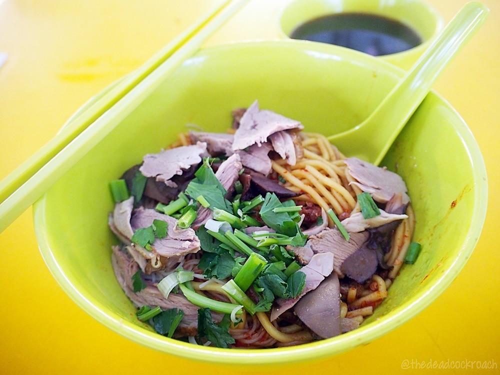 duck noodle, food, food review, review, singapore, tanglin halt, tanglin halt market, 东陵福美味鸭面, 鸭面, tanglin halt delicious duck noodle