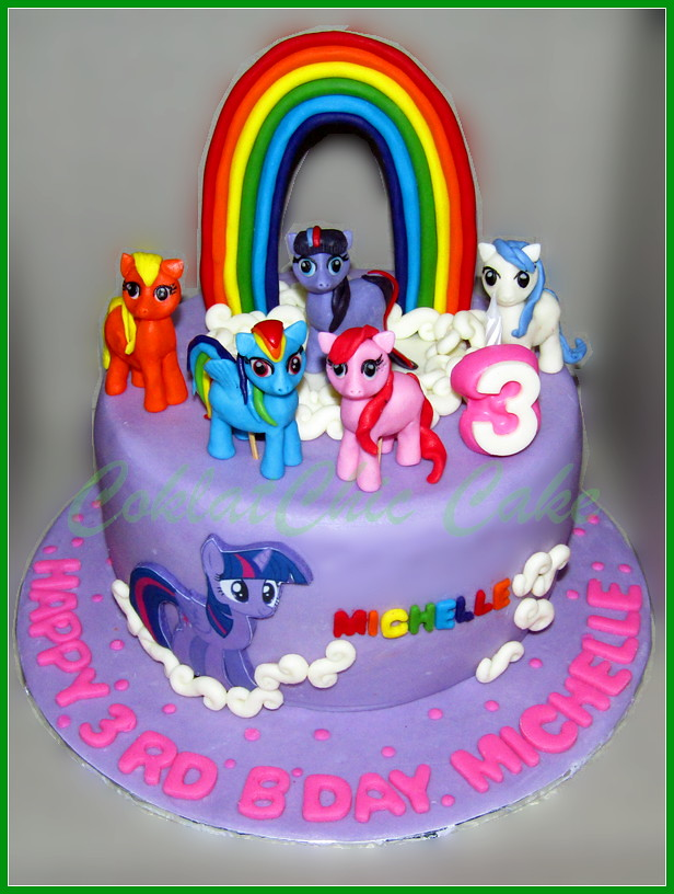 Cake My Little Pony MICHELLE 18 cm