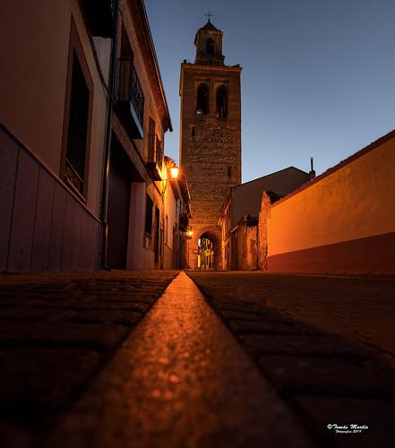 Torre de la iglesia de Santa Maria la Mayor.