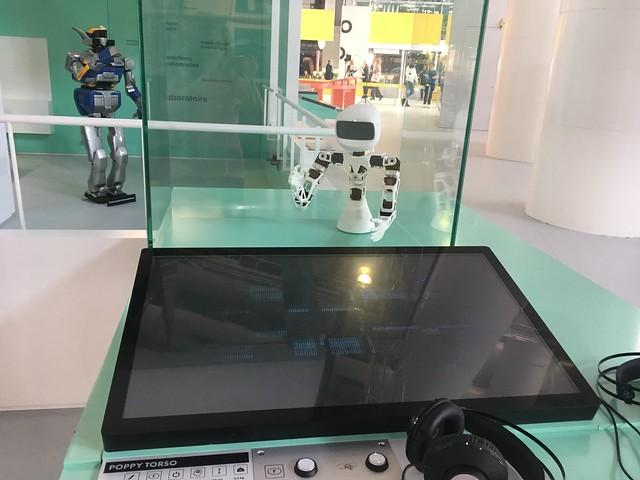 Exposition Robot Cité des sciences