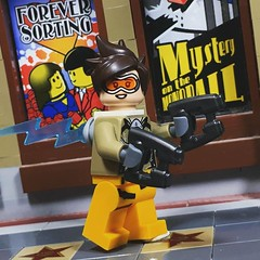 Lego Overwatch: Tracer