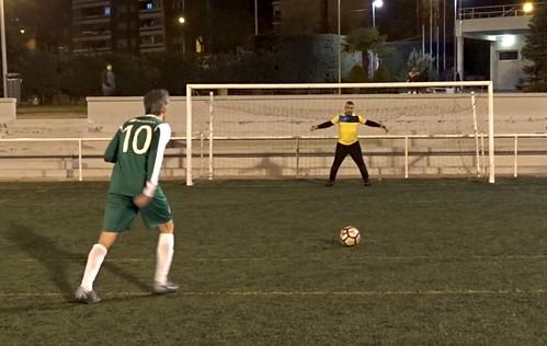 Francisco de Castro marca el penalti decisivo