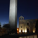 Tarquinia - Santa Maria in Castello notte 900