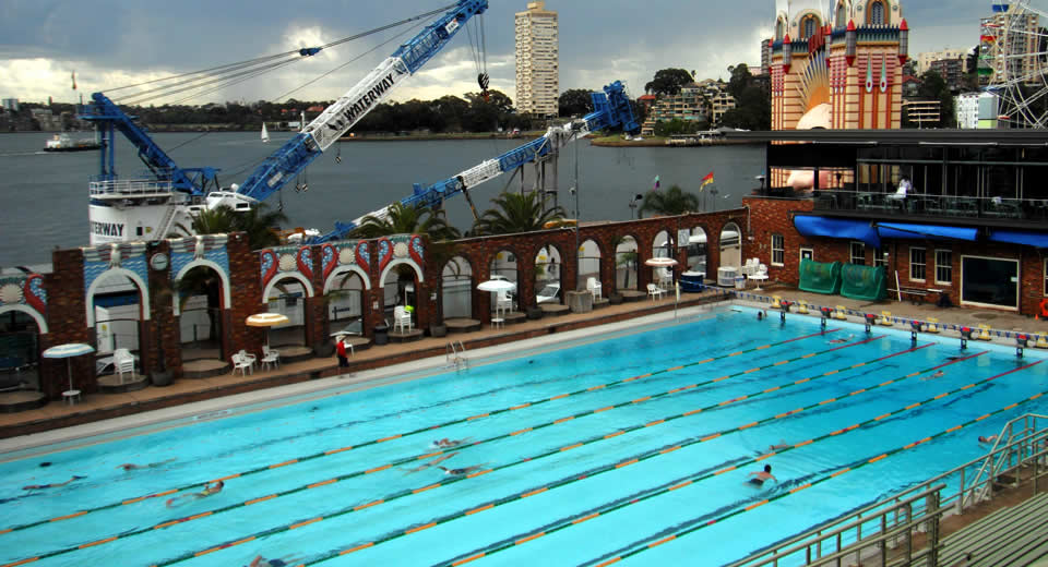 Sydney Harbour, North Olympic Swimming Pool | Mooistestedentrips.nl