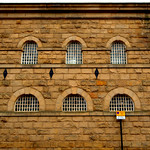 Old jailhouse in the centre of Preston
