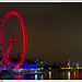London: The London Eye at night
