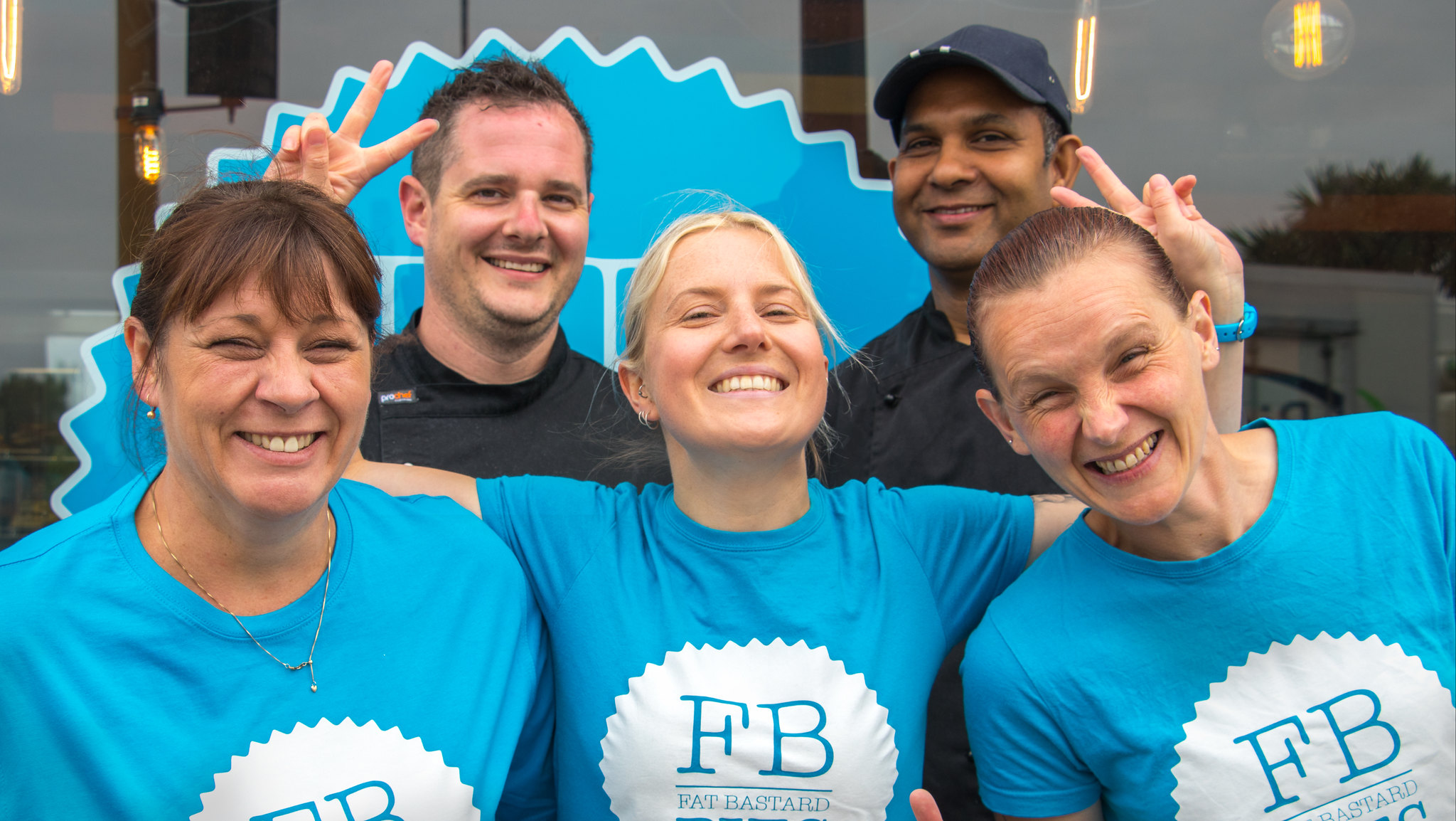 Fat Bastard Pies - Meet the team!