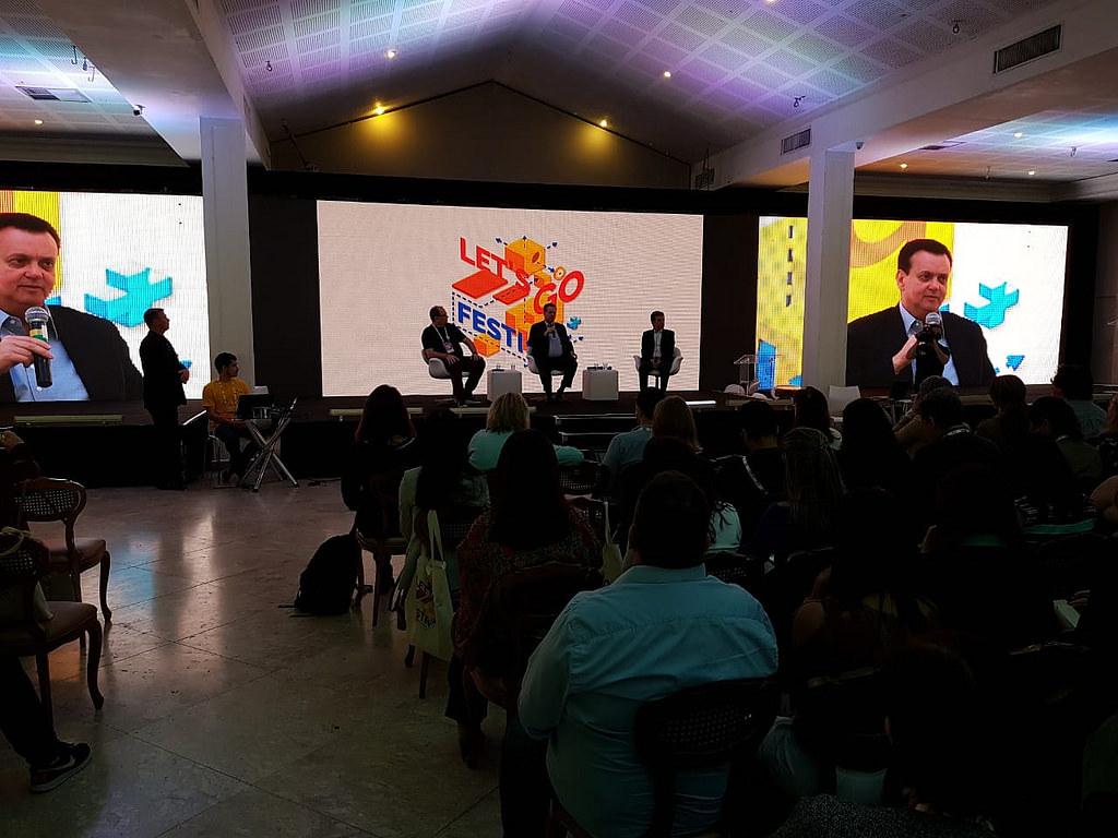 Visita o Festival de Inovação Educacional - Let's Go Festival. 26/09/2018. Curitiba-PR. Foto: MCTIC/Divulgação