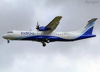 F-WWEU ATR72 Indigo
