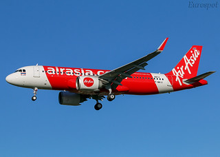 F-WWIX Airbus A320 Neo Air Asia