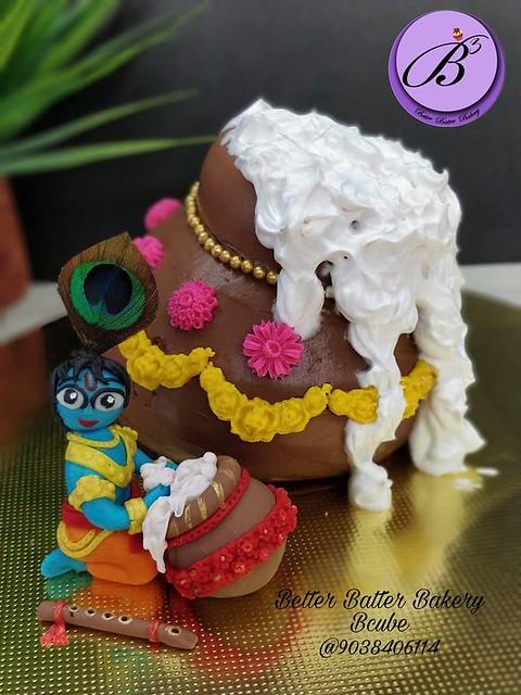 Cake by Meenakshi Agarwal of Better Batter Bakery - B cube