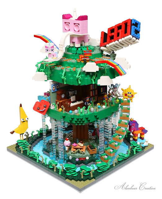 LEGO MOVIE DREAM TREE HOUSE 樂高電影夢幻樹屋