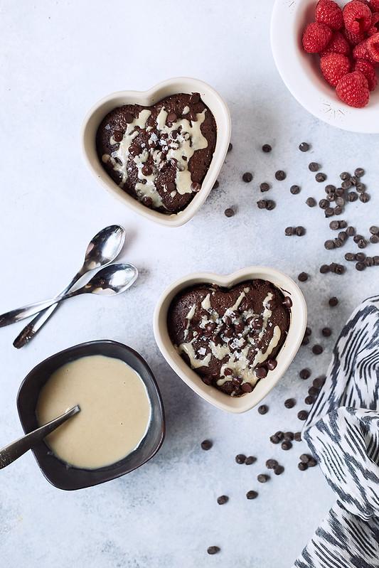 Tahini Chocolate Keto Mug Cake {paleo, gluten-free}