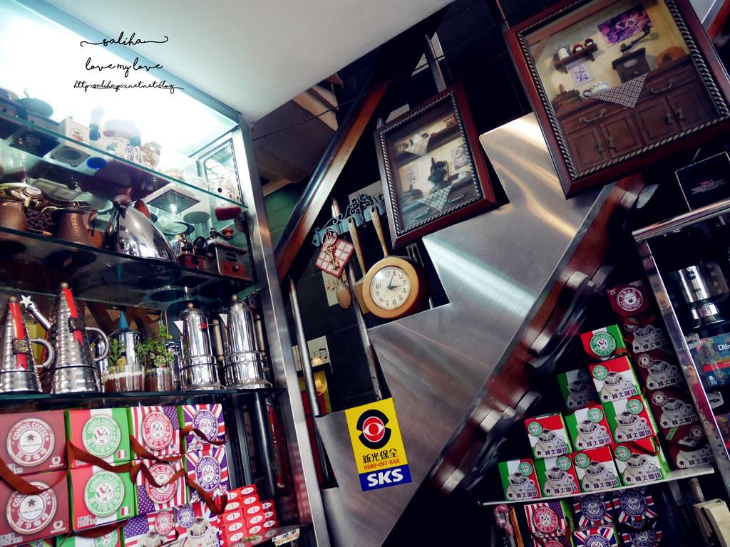 台北萬華區成都路西門站附近不限時下午茶老店蜂大咖啡廳 (7)