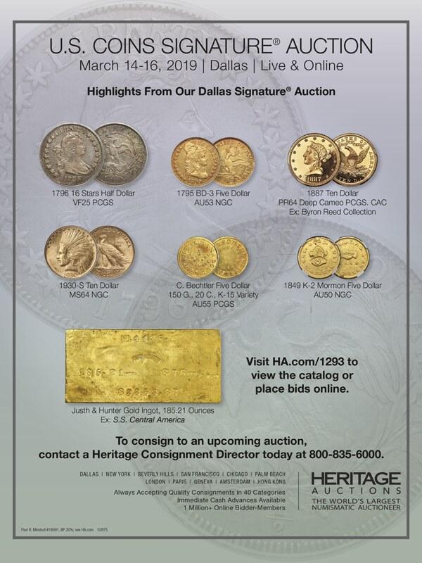 Heritage E-Sylum ad 2019-02-24