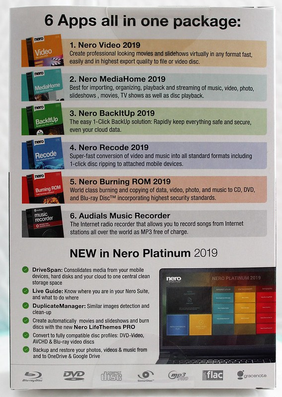Details about Nero 2019 Platinum Brand New Retail Box 888262001054