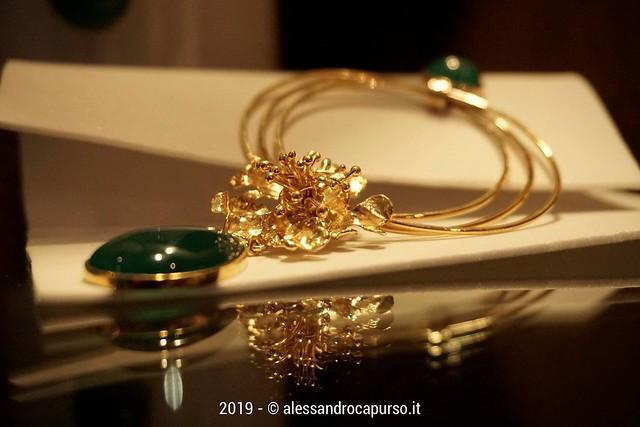 sfilata di moda e gioielli dello stilista Pietro Paradiso