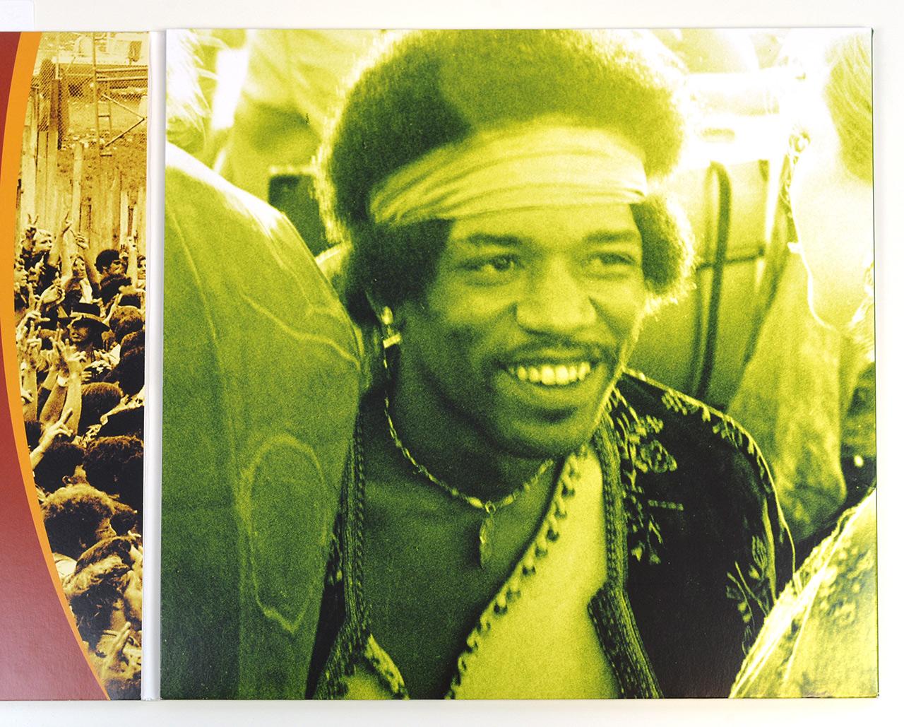 A0645 JIMI HENDRIX Live at Woodstock 3LP