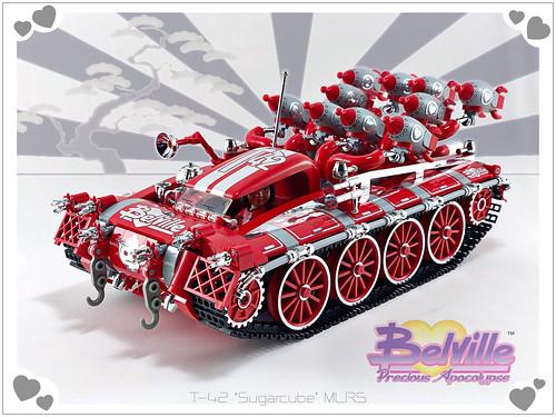 Belville T-42 'Sugarcube' MLRS