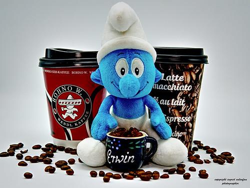 Schlumpfen - Kaffee