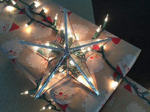 Glass Star Lamp