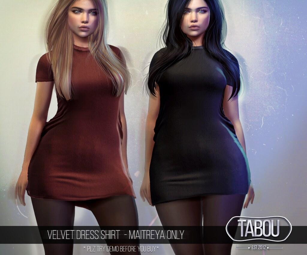 Velvet Dress Shirt @N21
