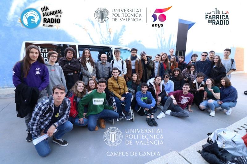Dia Mundial de la Radio UPV Campus Gandia ok