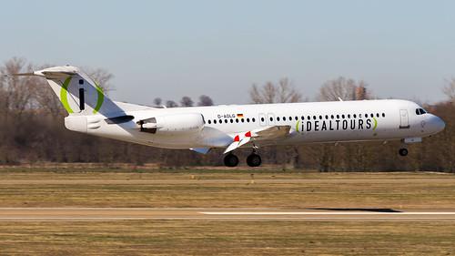 Fokker F100 D-AOLG Avanti Air - Ideal Tours Livery