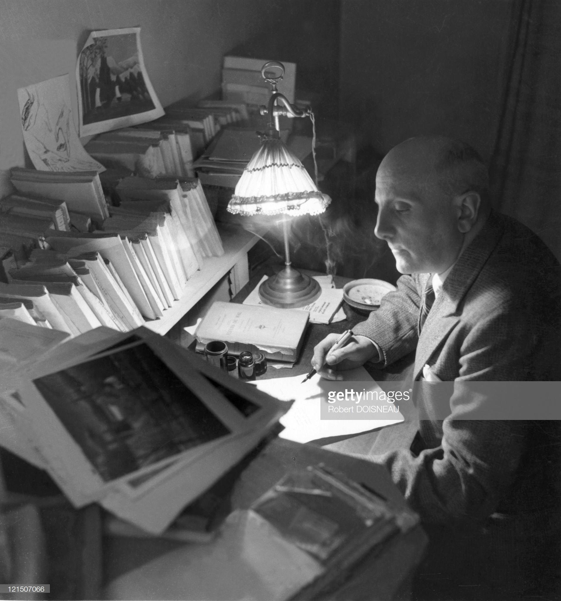 1944. Жан Тардьё — французский поэт, драматург, эссеист, переводчик. Один из зачинателей театра абсурда.