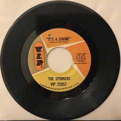 THE SPINNERS:IT'S THE SHAME(RECORD SIDE-A)