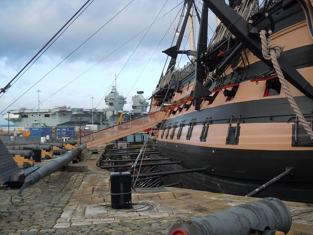 HMS Victory, Portsmouth Dockyard., Nikon COOLPIX S8000
