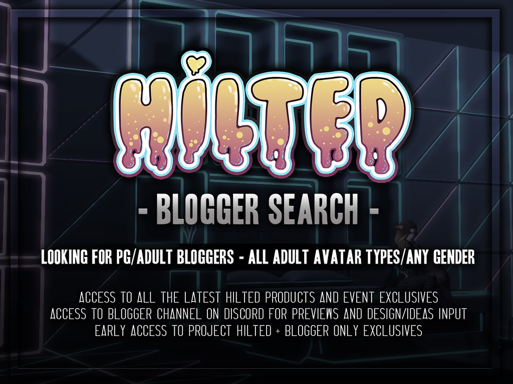 HILTED – Blogger Application Poster 2019