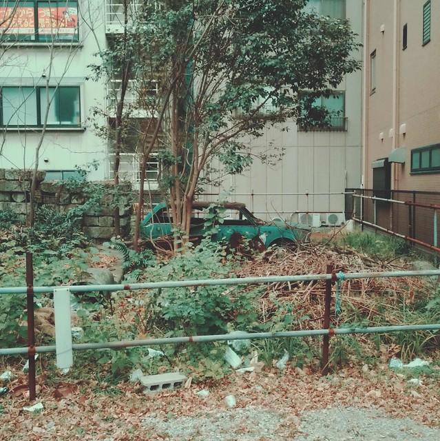 Scrapped car