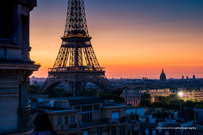 Early Morning Paris