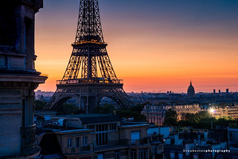 Early Morning Paris