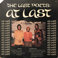 THE LAST POETS:AT LAST(JACKET A)