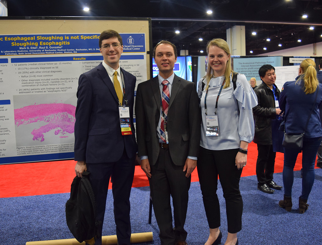 Members from the Department of Pathology & Laboratory Medicine at the University of Rochester Medical Center attended the U.S. and Canadian Academy of Pathology (USCAP) Annual Meeting March 17-22 in National Harbor, M.D.