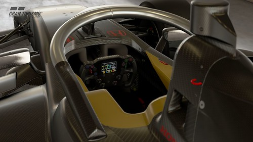 Dallara SF19 Super Formula Cockpit