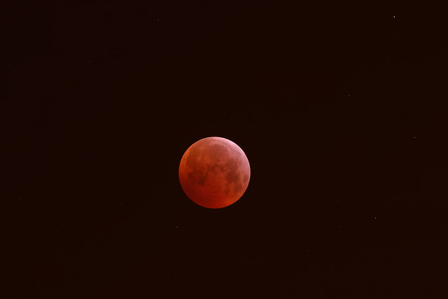 Moon eclipse, RICOH PENTAX K-1 Mark II, smc PENTAX-F* 300mm F4.5 ED[IF]