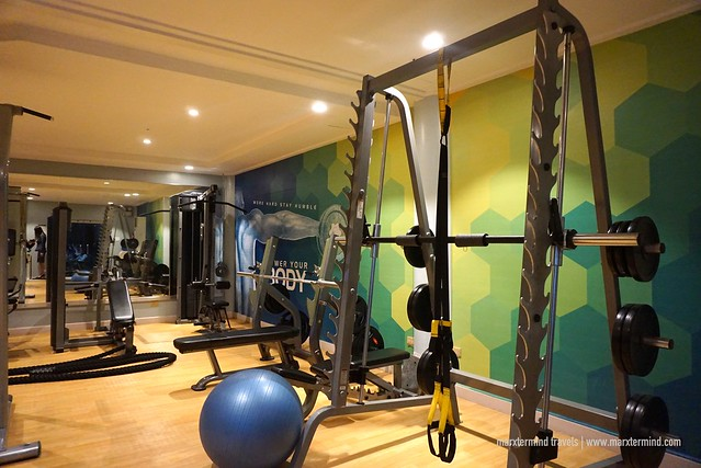 Villa Caceres Hotel Fitness Center