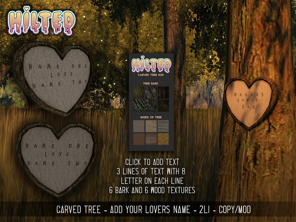 HILTED – Carved Tree AD