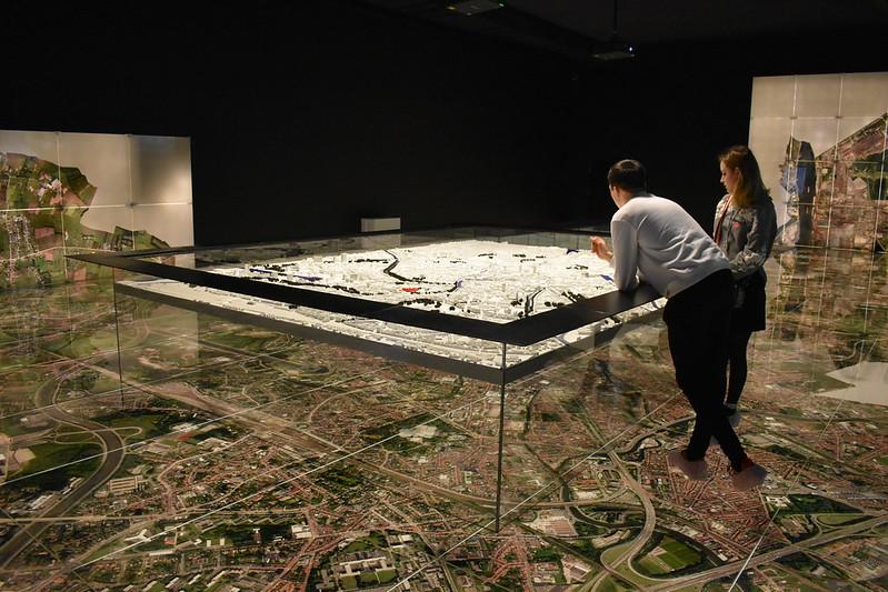 Gran mapa de Gante